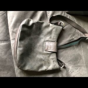 Gray Miss Me purse. Good condition